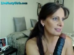 Webcam porno ao vivo com madura provocante