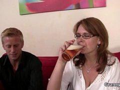 Senhoras do sexo amador caseiro
