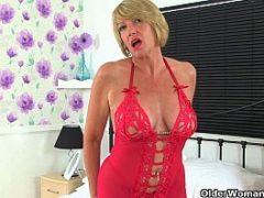 Coroas sexy de lingerie vermelha