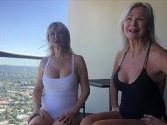 Porno coroas lesbicas se esfregando