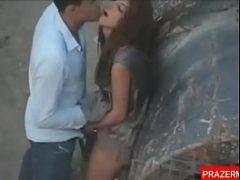 Casal fudendo em publico na praça do Rio de Janeiro