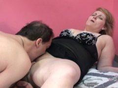 Gorda da buceta rosada dando para o cunhado gostoso