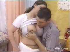 Esposa no anal em video porno vintage