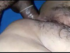 Marcia coroa gostosa dando sua buceta peluda