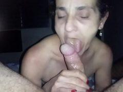 Amante comendo a velha feia no motel